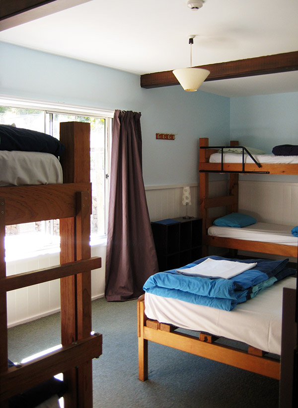 Dormitory, includes full bedding